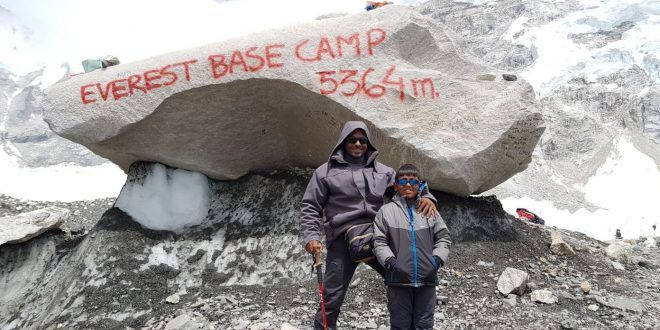 Youngest To Reach Everest Base Camp