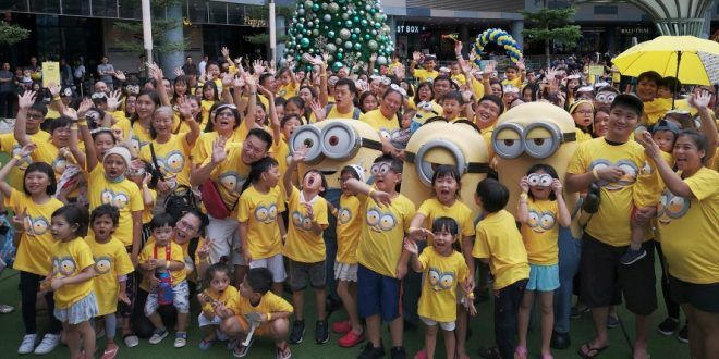 Largest Gathering Of Minions Fans