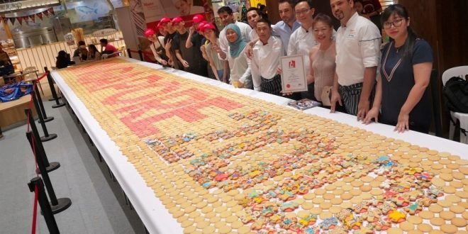 Largest Word Formation Made Of Cookies