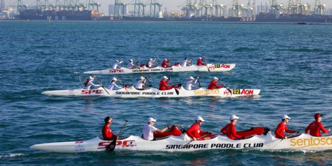 Fastest Round Singapore By Outrigger Boats