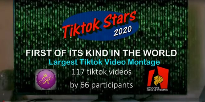 Largest TikTok Video Montage