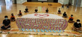 Largest Collage Made Of Rice