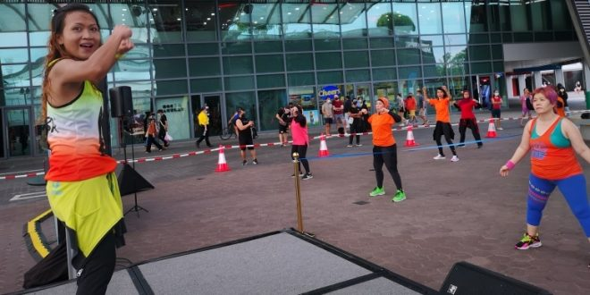Longest Zumba Relay By Groups Of 15