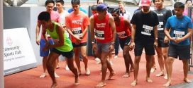Largest 2-Km Barefoot Race