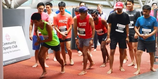 Largest 2-Km Barefoot Race
