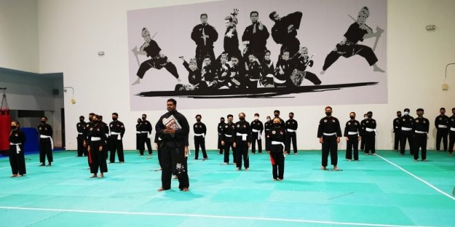 Longest Pencak Silat Display Relay