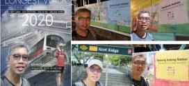 Longest Walk Along All MRT & LRT Lines