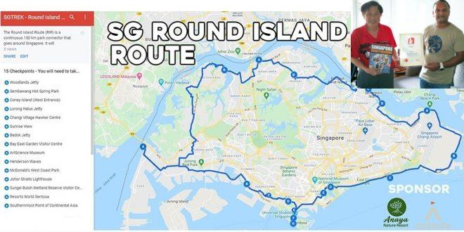 Largest Event Walking Around Singapore