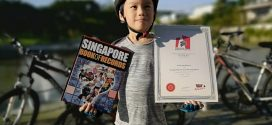 Youngest Person To Cycle Round Singapore