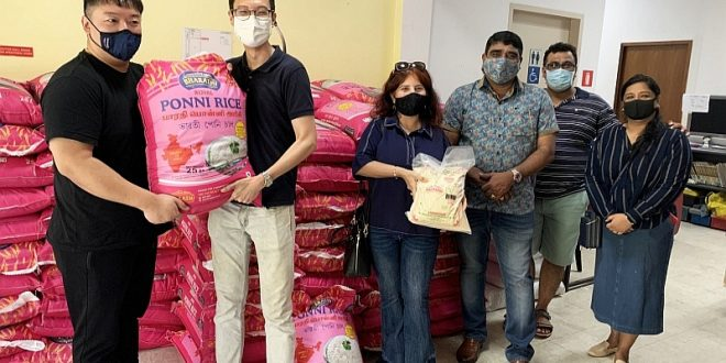 Largest Donation Of Rice To Charities Collected From The Public