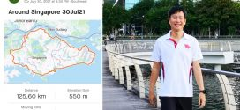 Most Round-Singapore Walks Completed In A Month