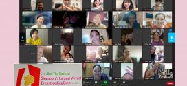 Largest Online Gathering Of Mothers Breastfeeding