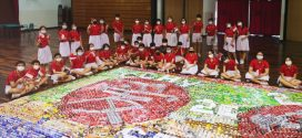 Largest Logo Made Of Drink Cans