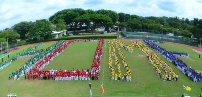 Largest Human Formation Of The Word 'HOME'